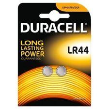 2 x Duracell LR44 1.5V Alkaline Batteries LR 44 A76 AG13 357