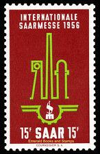 EBS Germany 1956 Saar Saarland International Fair Saarmesse Michel 368 MNH**