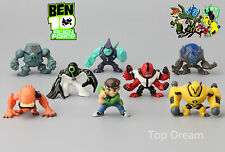 8X Anime Ben 10 Ultimate Alien PVC Action Figures Mini Dolls Boy Kids Gift Cute