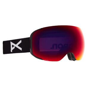 ANON Men's M2 Snow Goggles - Black - PERCEIVE Sunny Red