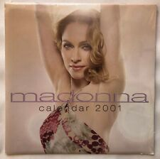 MADONNA - OFFICIAL 2001 CALENDAR  [BRAND NEW, SEALED, MINT CONDITION]