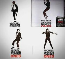 "Michael Jackson Korea Only ""NUMBER ONES"" 1st  Pressed CD+PROMO POSTCARDS SET~!"