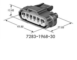 7283-1968-30 New Fully Assembled 6-pin Connector