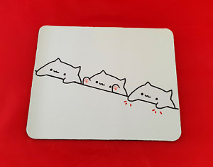 Bongo Cat Meme Mouse Mat Pad PC & Laptop Gaming