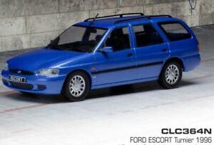 IXO MODELS FORD ESCORT ESTATE METALLIC BLUE 1986 1-43 SCALE CLC364N