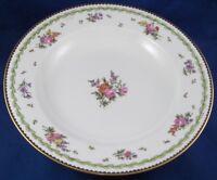 Antique 19thC Sevres French Floral Porcelain Plate Porzellan Teller Blumen 1890s