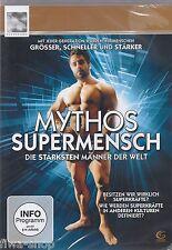 DVD - Mythos Supermensch - Die stärksten Männer der Welt - Sport Neu & OVP