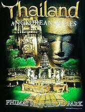 THAILAND ANGKOREAN STYLES PHIMAI HISTORICAL PARK LARGE COLORFUL Joligolf SHIRT