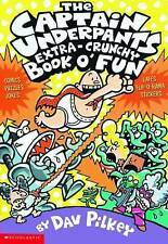 Captain Underpants Extra-Crunchy Book o' Fun 'n' Games by Dav Pilkey (Paperback,