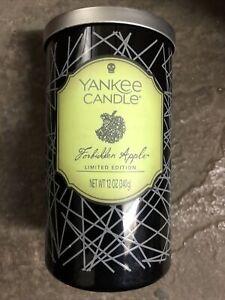 YanKee Candle Halloween Forbidden Apple Medium Pillar
