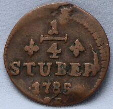 Deutsches Reich Jülich-Berg 1/4 stuber 1785 PR.