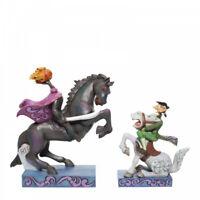 Disney Traditions Headless Horseman & Ichabod Figurine 6007059 Halloween Figure