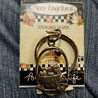 MARY ENGELBREIT KEY RING CUP OF KINDNESS NEW