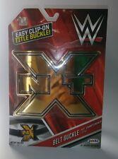 WWE Championship NXT Champion Belt Buckle