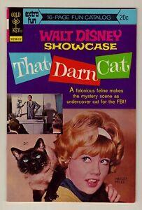 Walt Disney Showcase #19 - 1973 Gold Key - That Darn Cat, Hayley Mills, NM (9.2)