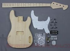 Bargain Musician - BK-008 - DIY Unfinished Project Luthier BASS Guitar Kit