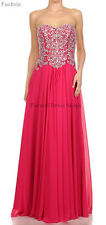 LONG PROM DRESS FORMAL EVENING GOWN SPECIAL OCCASION PAGEANT SWEET SIXTEEN PARTY