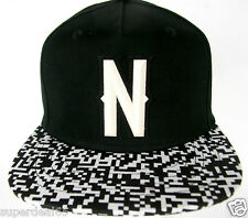 Neff Baseball Neff  Bitmap Black  Snapback Headwear Neff Cap