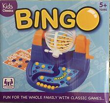 Kids Classic BINGO & lotteria numeri per il prelievo giocattolo gioco Picker Tumbler Palline Carte