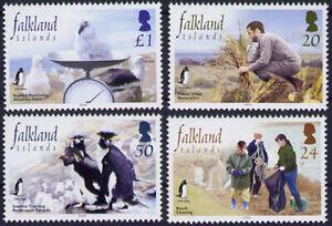 Falklandinseln: Mi. 903/06 Naturschutzverein der Falklandinseln, Pinguine (1790)