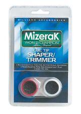 Pool Stick Cue Tip Shaper/Trimmer Mizerak Billards Accessory NEW Free Shipping