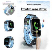 Real Time Gps Smart Watch Tracker LBS SOS Locator For Kids Girls Boys Phone Spy