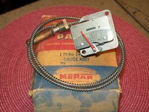 1953 Dodge Coronet 8 Cyl HEMI 1954 Meadowbrook NOS MoPar TEMP GAUGE #1479363