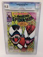 Amazing Spider-Man #363 Newsstand CGC 9.8 3rd CARNAGE Bagley Marvel (1992)