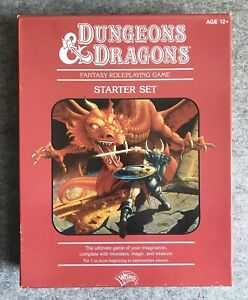 Dungeons and Dragons : Starter Kit : Open Box, Unpunched, Great Shape!