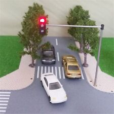 HO OO Scale Traffic Light Signal Model Train Architecture Crossing Walk Street
