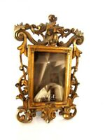 """SAGE Victoria Ornate Carved Wood Picture Frame Picture Size 6""""x4"""""""