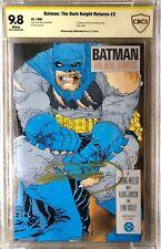 BATMAN: The Dark Knight Returns #2 CBCS ASP 9.8 Signed MILLER - NOT CGC