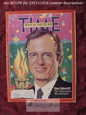 TIME magazine January 7 1985 MAN OF THE YEAR PETER UBERROTH