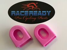 2 Race Ready.. Crank Arm Boots...MTB..Cycling.. fits SRAM / Shimano - Pink