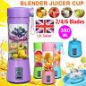 380ML Portable USB Electric Juicer Smoothie Maker Blender Bottle Juice Shaker
