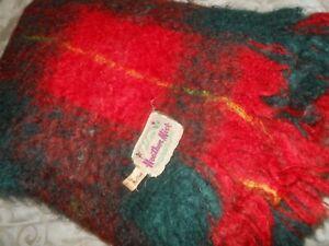 HEATHER MIST.. a McPHee...Hand Loomed in Scotland..75% mohair..25% wool..Rug..!