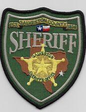 NEW Galveston County Sheriff State Texas TX Police NEW