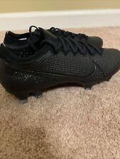 Nike Mercurial Vapor 13 Elite Fg Soccer Cleats Black Men Size 6 Aq4176-001