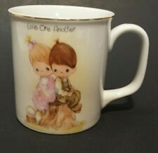 Vintage 1983 Precious Moments Love One Another Coffee Cup Collectable