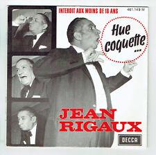 Jean RIGAUX Vinyle 45T EP Int. - 18 Ans CHAUSSETTES APHRODISIAQUE - DECCA 461149