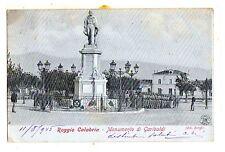 C002087    REGGIO    CALABRIA    MONUMENTO  A GARIBALDI   ANIMATA  VG  1905