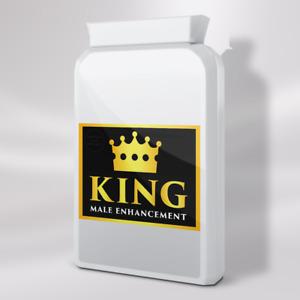 KING - MALE ENHANCEMENT PENIS ENLARGEMENT PILLS - 90 PILLS (3 MONTH SUPPLY)