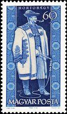HUNGARY - 1963 - FOLK COSTUMES - Hortobágy man - MNH Scott #1542 Stamp