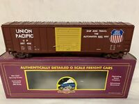 ✅MTH PREMIER UNION PACIFIC 50' MODERN BOXCAR! FITS LIONEL ATLAS K-LINE TRAIN