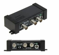 Sdoppiatore Splitter Video BNC 1 IN - 2 OUT - AHD - HDCDI - 4Mpx