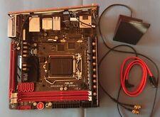 Asus ROG Maximus VI Impact - Mini ITX socket intel LGA 1150 -  Bluetooth Z87