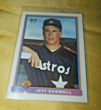 JEFF BAGWELL Houston Astros RC Baseball 1991 BOWMAN ROOKIE CARD-Free Shipping