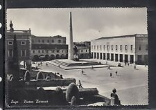 Cartolina Lugo Piazza Baracca ANIMATA HF170