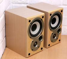 Denon SC-M50 Estantería Hi-fi Altavoces fuerte misión diseñado fantástico 99p Nr