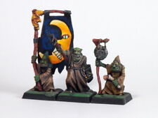 Cave Goblin Command Group, 9th Age, D&D, Warhammer.